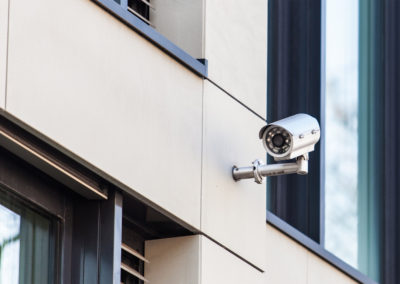 We install, service & maintain security systems including CCTV cameras