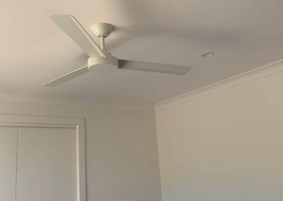 Ceiling fan supplied and fitted