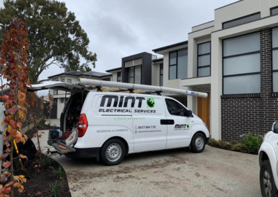 Mint Electrical Services Van